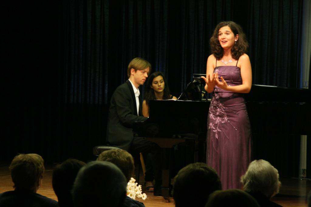 29/05/2010 Elisabeth Bulbena i Thorsten Lindner. Foto: Daniel Soler