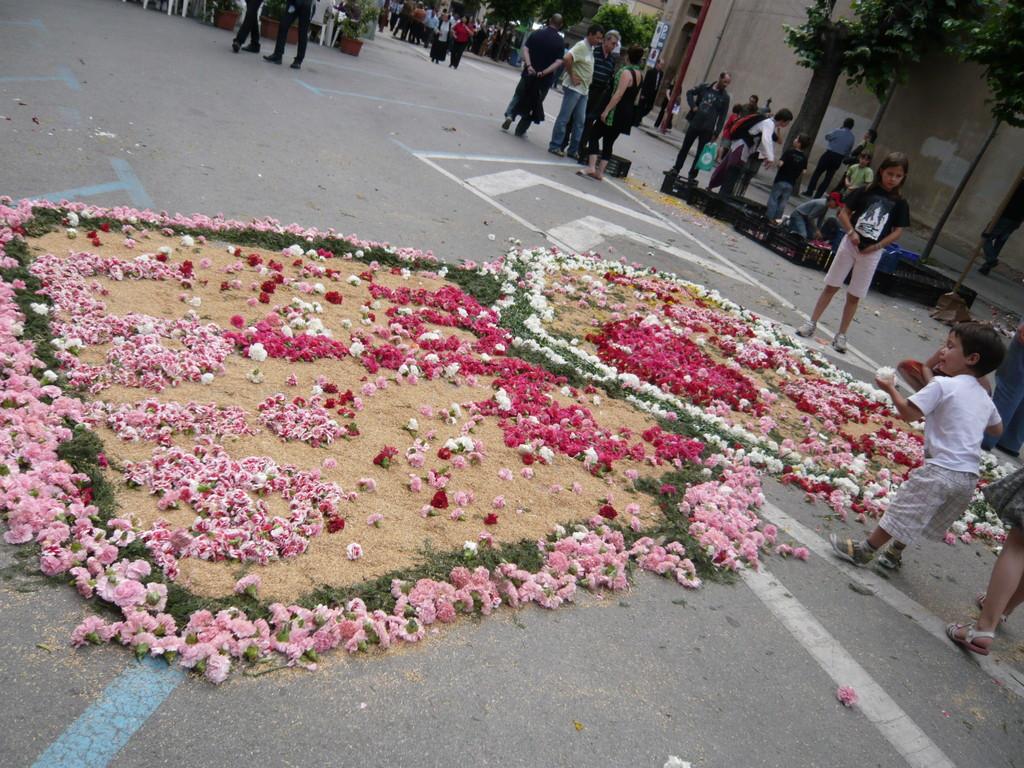6/6/2010 Catifes improvisades a la plaça Dr. Vich