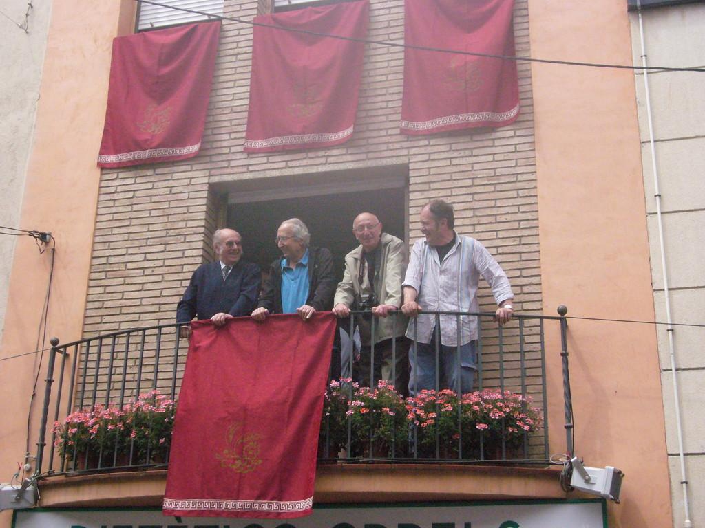 6/6/2010 Martí Sunyol, Albert Benzekry i Jordi Mas amb Pere Iglesias