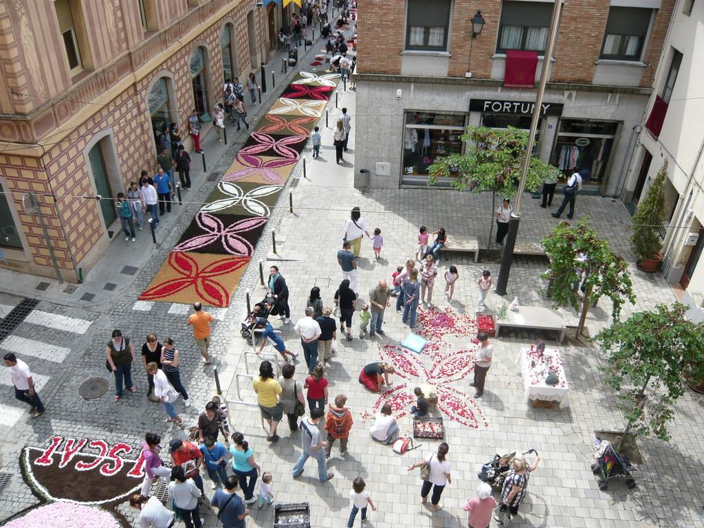 6/6/2010 La Plaça de Santa Isabel des de Can Raspall