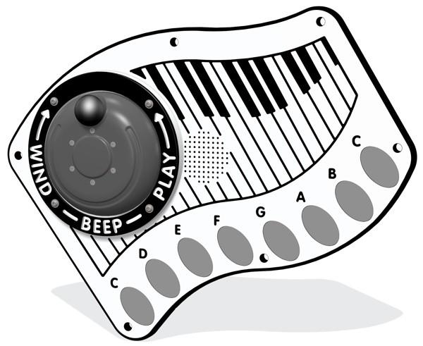 tastiera Pannelli ludici, elettronici, Playtronic, tris, forza 4, accessibili per disabili inclusivi Stileurbano Abbiategrasso oratorio