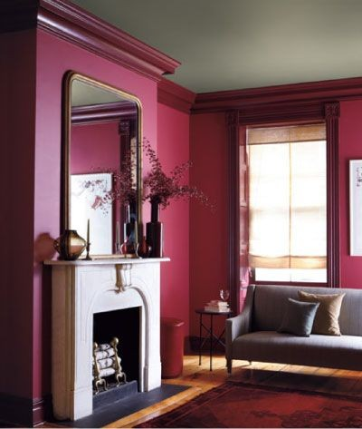 Brooklyn Townhouse Living Room, Scheme A - Real Simple Magazine. Color palette by Eve Ashcraft. Photograph by Gentl & Hyers