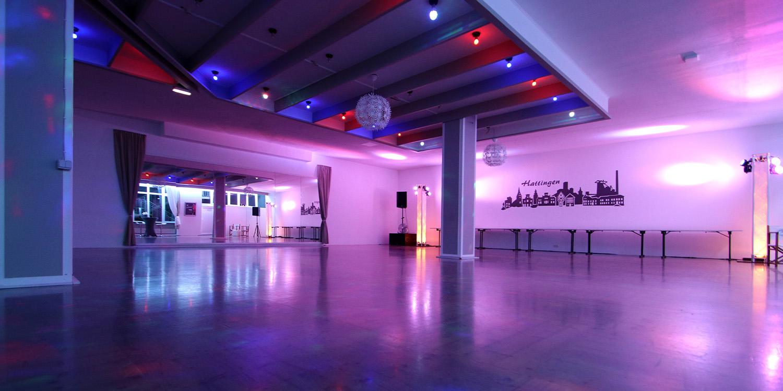 Der Partysaal - mehr Platz & flexibeler als Du denkst!