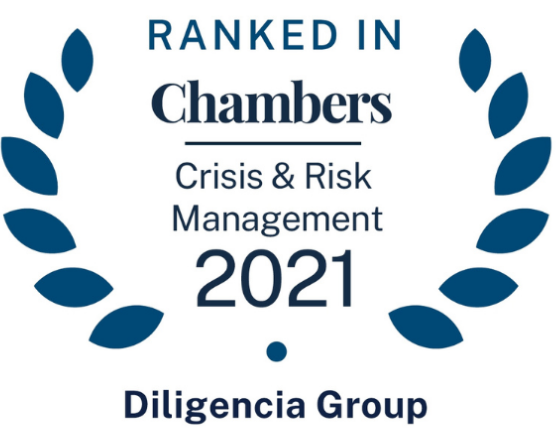 Diligencia ranked in the Chambers Crisis and Risk Management Guide 2021