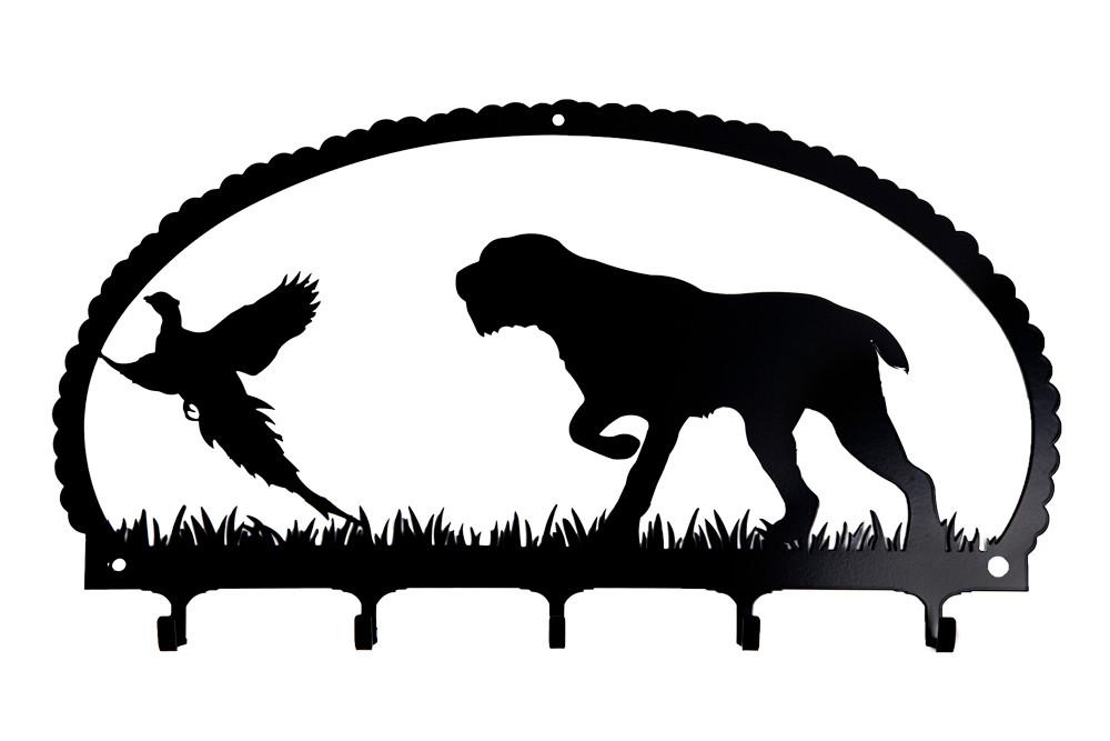 Drahthaariger Vorstehhund - anzeigend