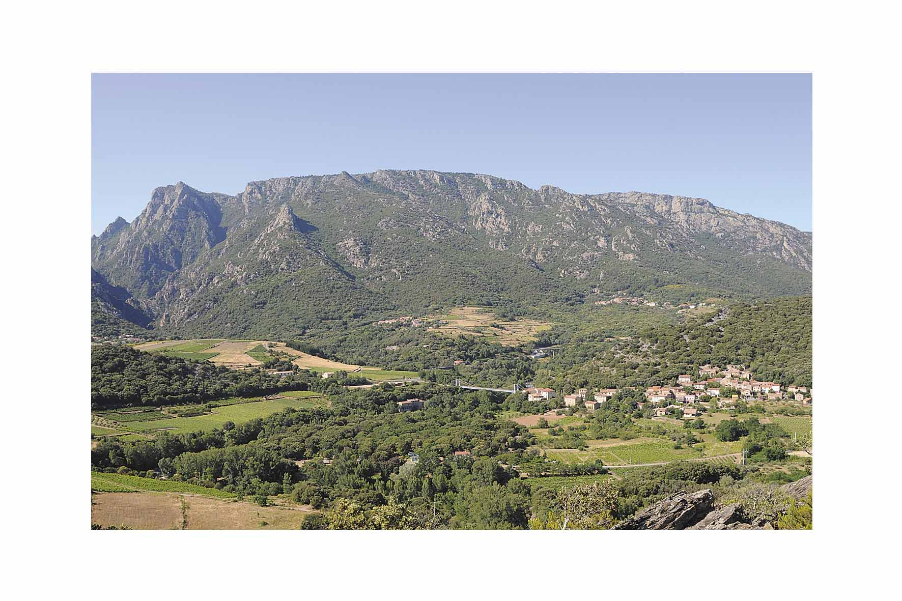 Panorama versant sud