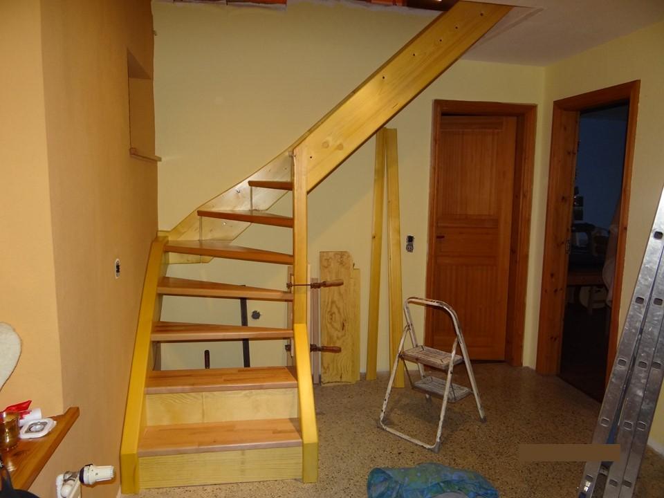 Stufen eingesetzt