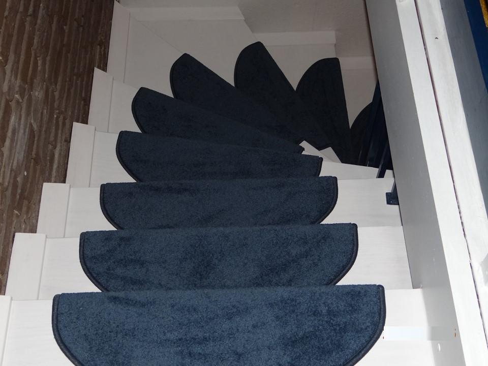 Fertig saniert, mit neuen Stufenmatten
