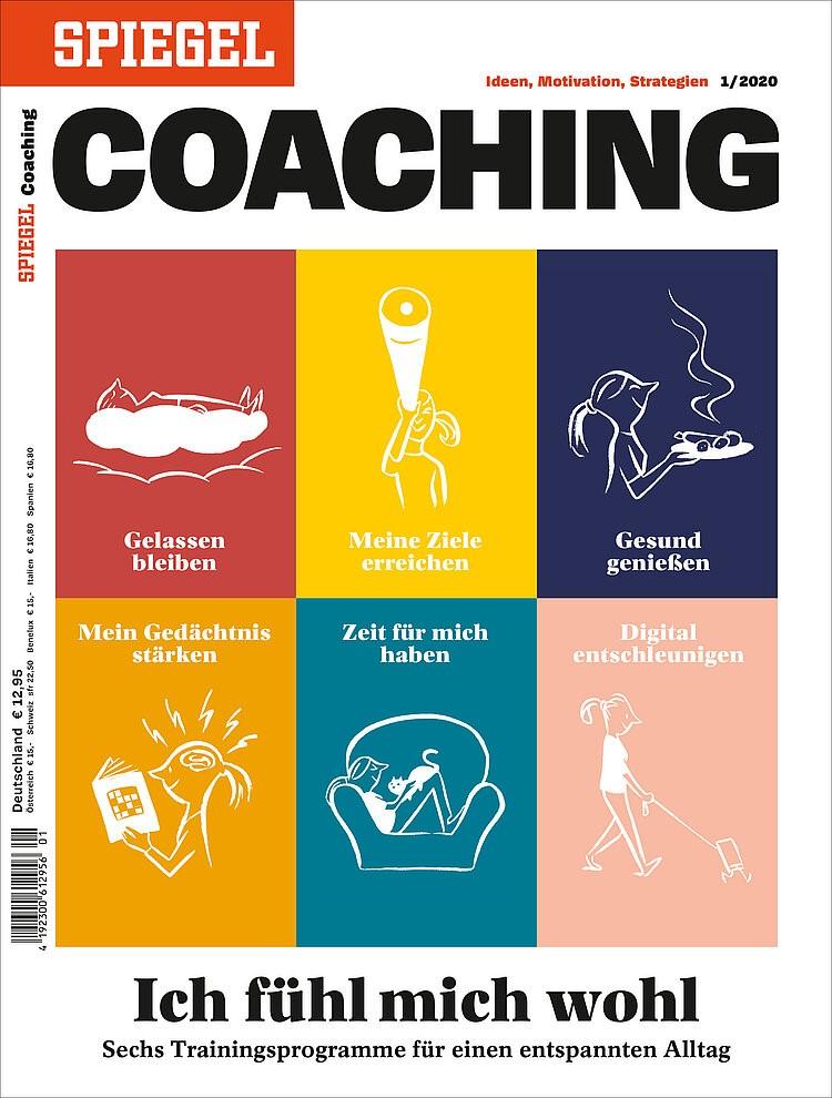 """Spiegel-Coaching """"Ich fühl mich wohl - Sechs Trainingsprogramme für einen entspannten Alltag"""""""