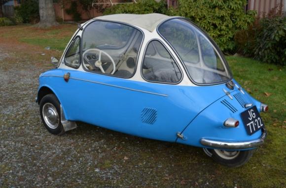 Een Heinkel Trojan uit 1959.