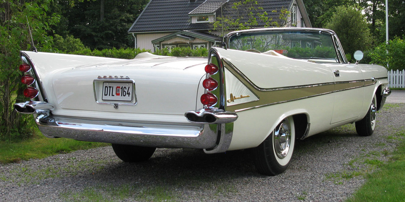 DeSoto Adventurer uit 1958.
