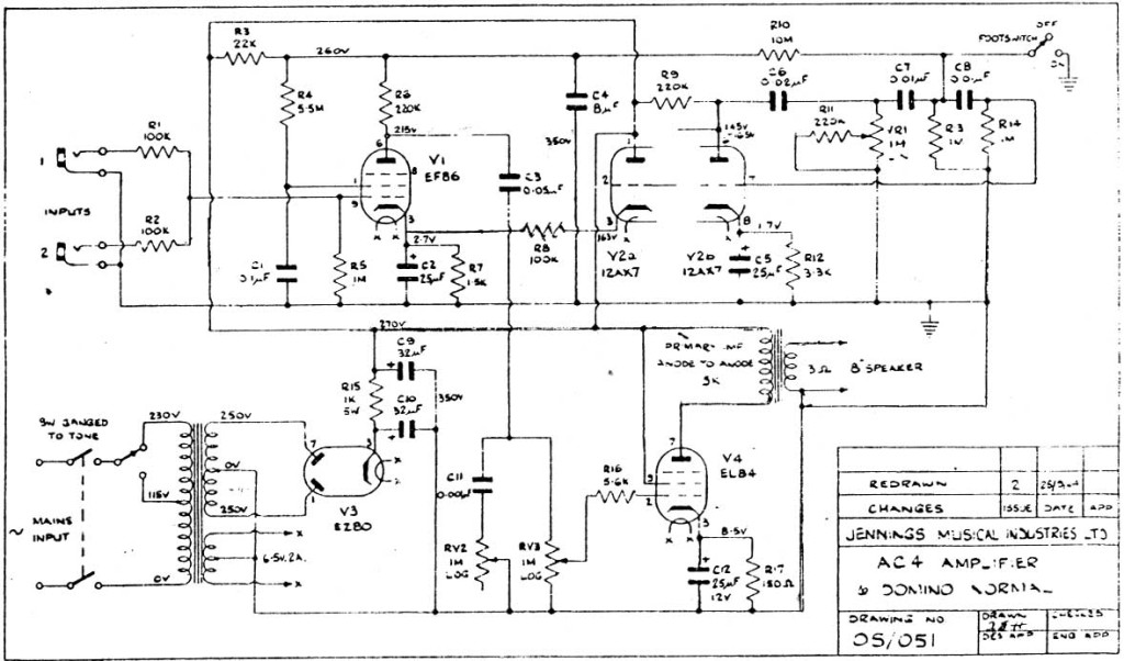 image Hand Wired Tube Amp Wiring Diagram on