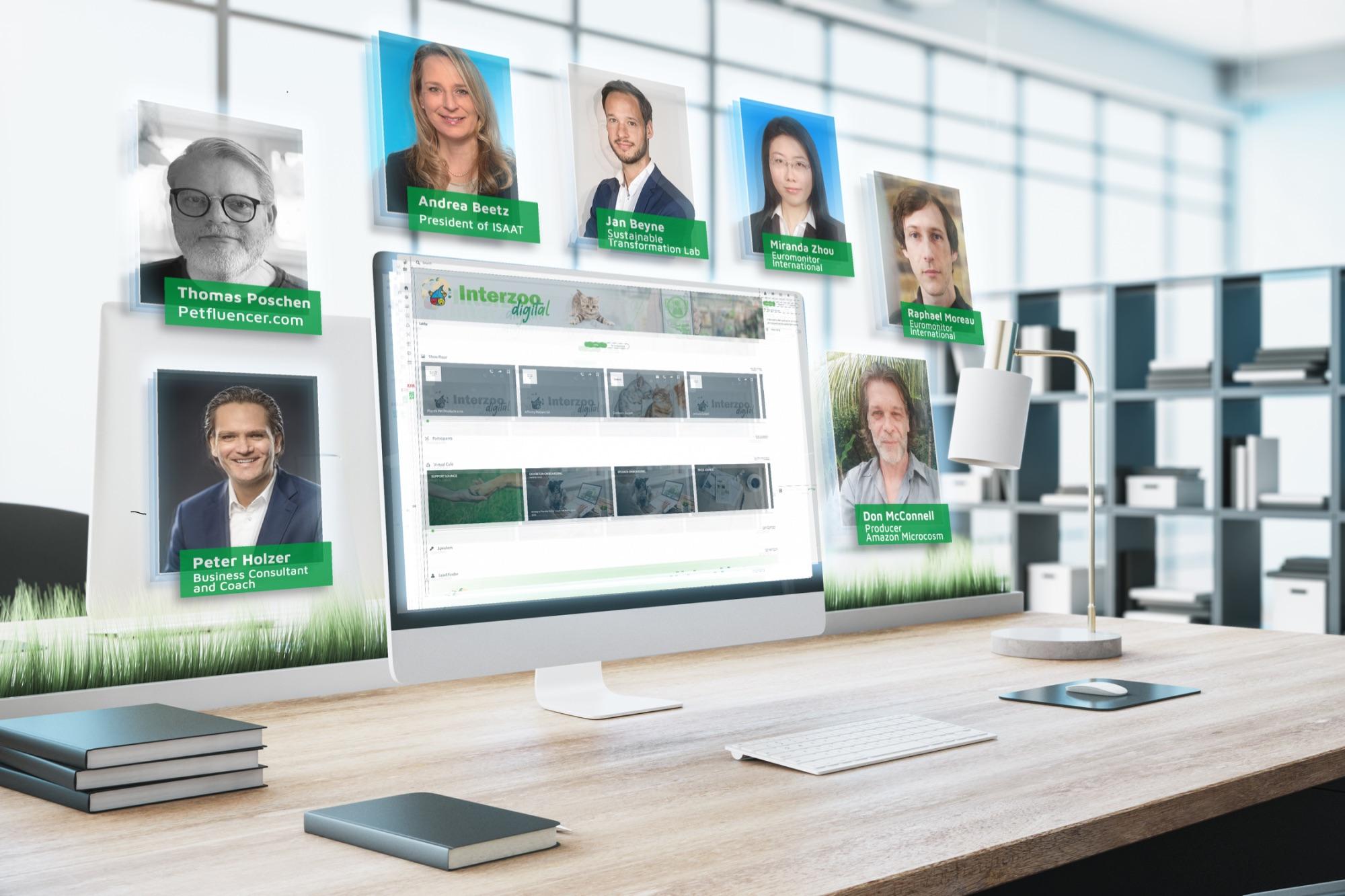 Interzoo.digital mit 5 virtuellen Bühnen