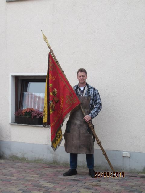 Zur Eröffnung des Landeserntedankfestes inDelitzsch,durfte der Meister die Innungen Del./Eil.und TO vertreten...