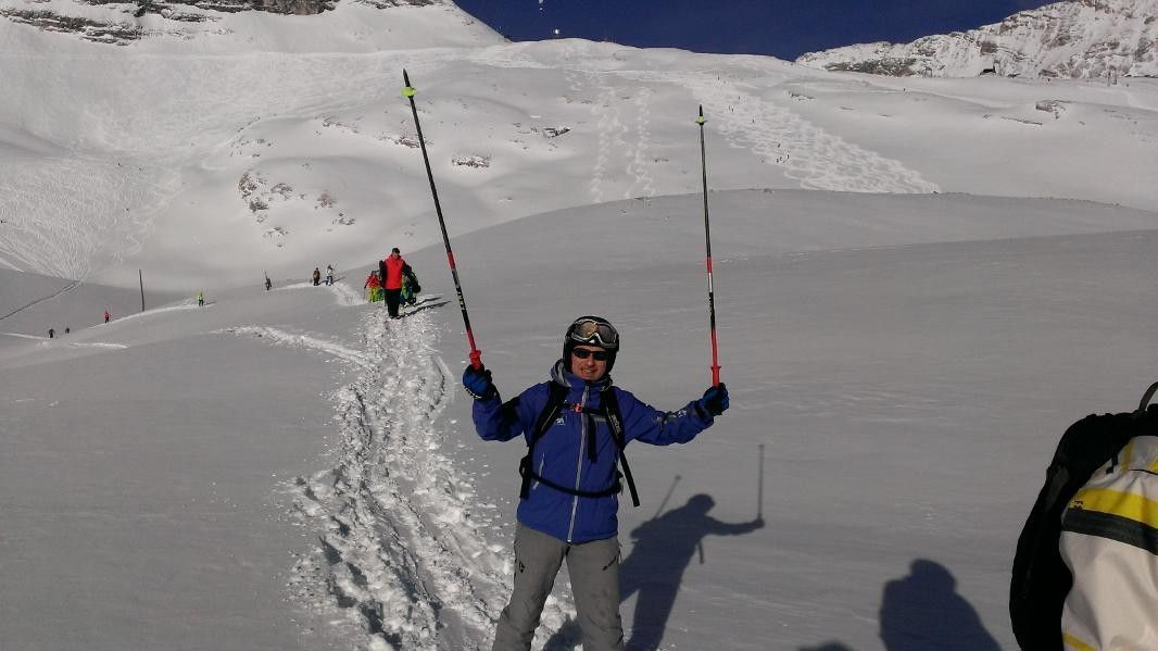 Lehrgang DSLV - Holger LOST im Schnee - 2014