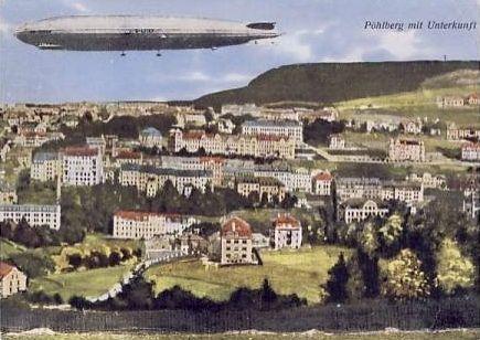 Zeppelin am Pöhlberg