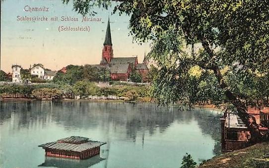 Schlosskirche 1915