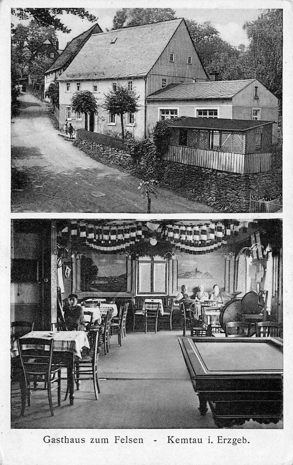 Blick in die Gaststube um 1925