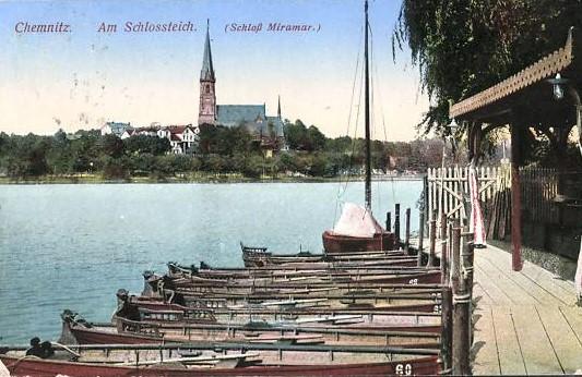 Bootsverleih 1913