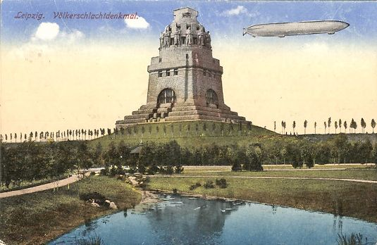 Völkerschlachtdenkmal 1913