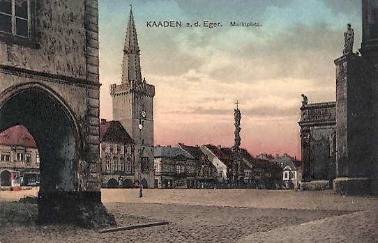Der Marktplatz am Abend