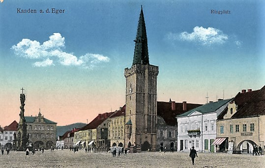 Der Markt wurde auch Ringplatz genannt