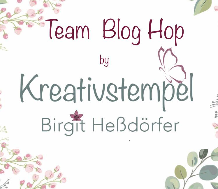 Blog Hop Team Kreativstempel- neuer Minikatalog & SAB 2021