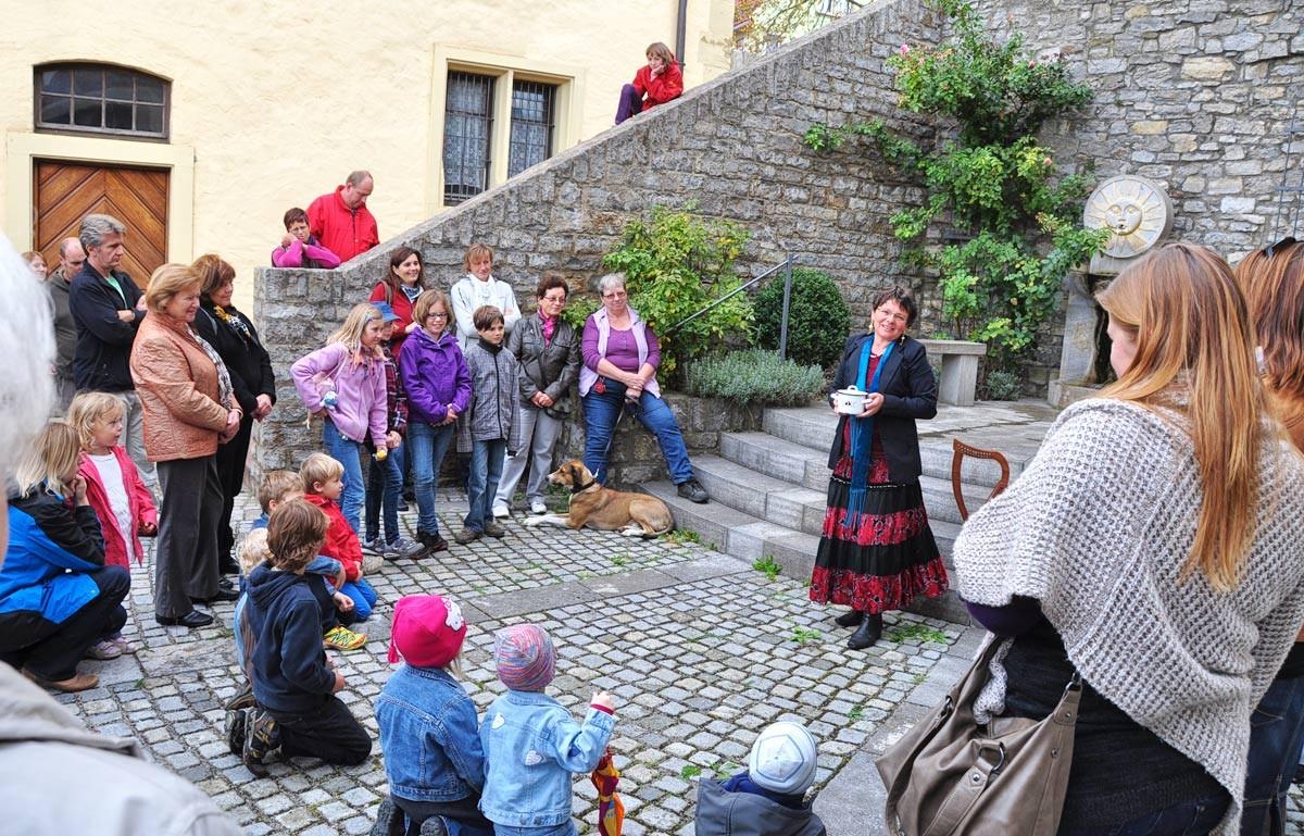 Märchenspaziergang durch Arnstein