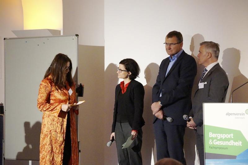 v.l.n.r.: Frau Mag.a Margit G. Bauer, Frau Mag.a Ilona Ventura Msc, Herr Dr. Andreas Ermacora, Herr Markus Winkler