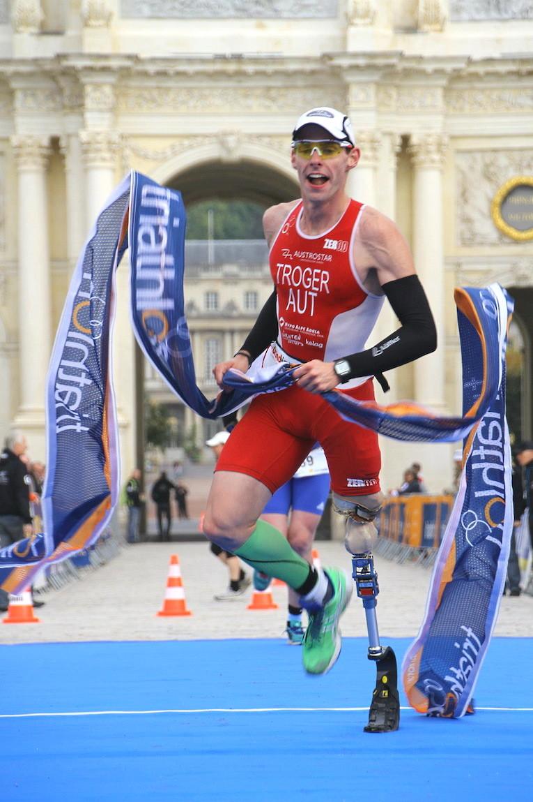 Weltmeister im Duathlon 2012 (Titelbild des Buches) (Marco Bardella)