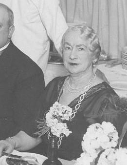 Mathilde Sennet en 1934