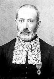 le grand rabbin Moïse Schuhl à Vesoul vers 1890