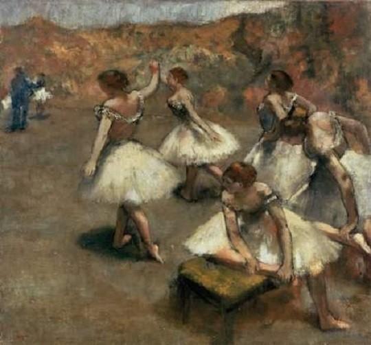 Degas : danseuses sur la scène