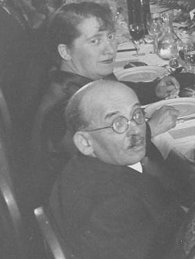 Georgette et Pierre Dreyfus en 1934