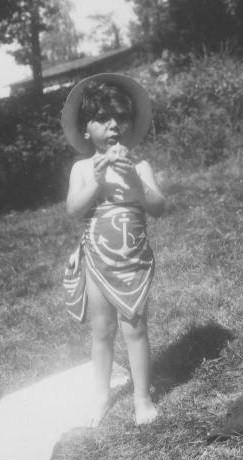 Arlette Flacsu, juillet 1942 à Eymoutiers