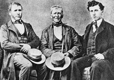 François, Michel et Joseph Gillet