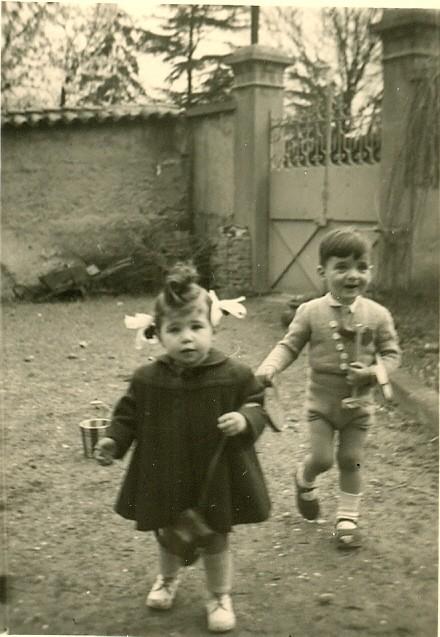 1950 avec Nicole