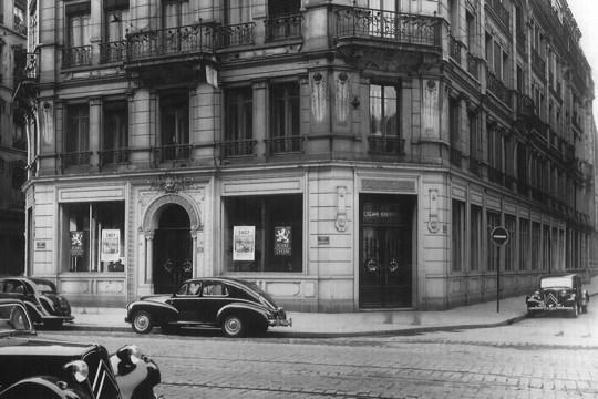 ce fut la première agence à Lyon, rue de la République