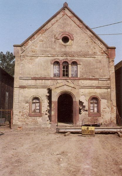 La synagogue de Zellwiller