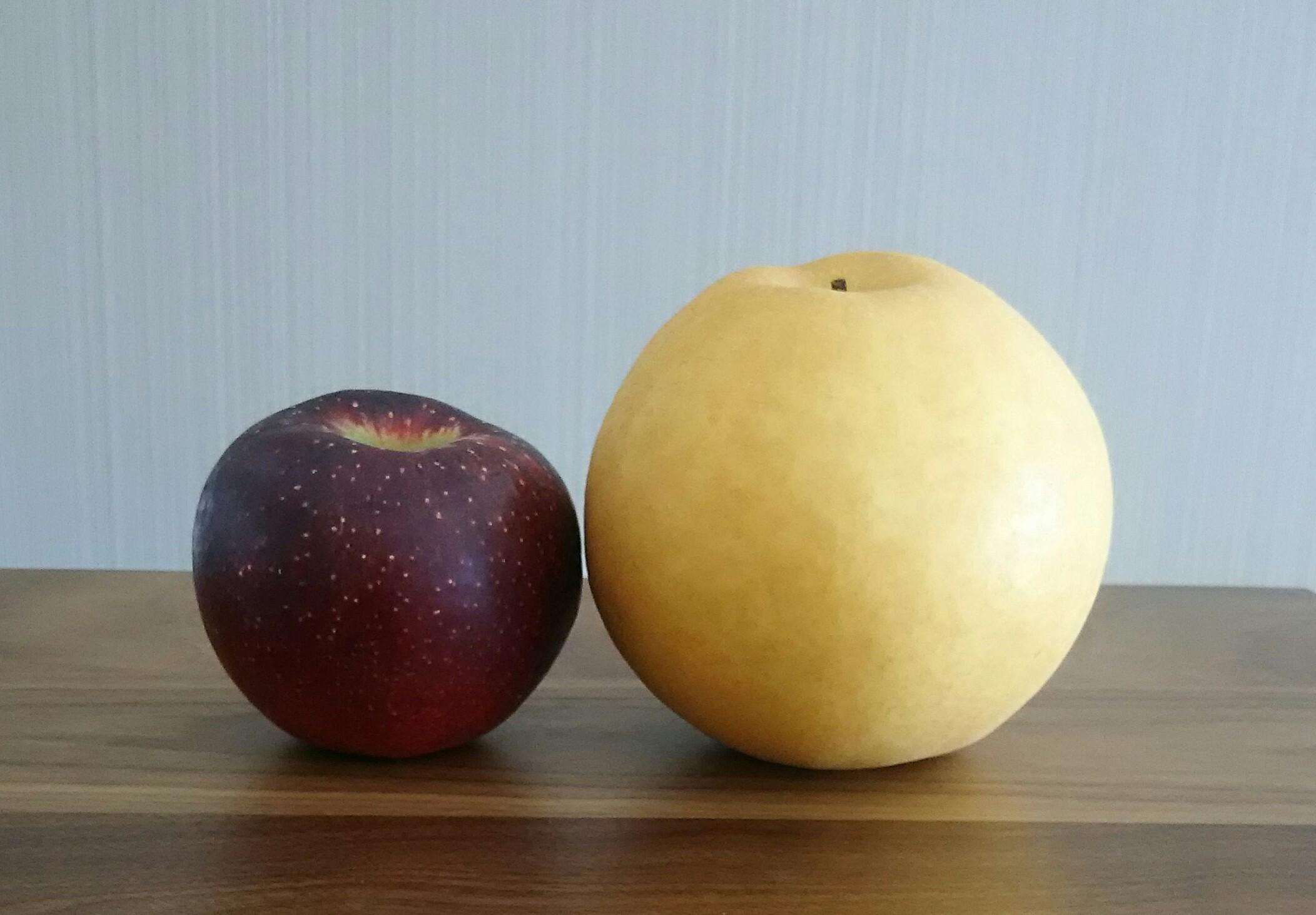 大分市 みつか漢方養生堂 秋の乾燥空咳対策 りんご 梨
