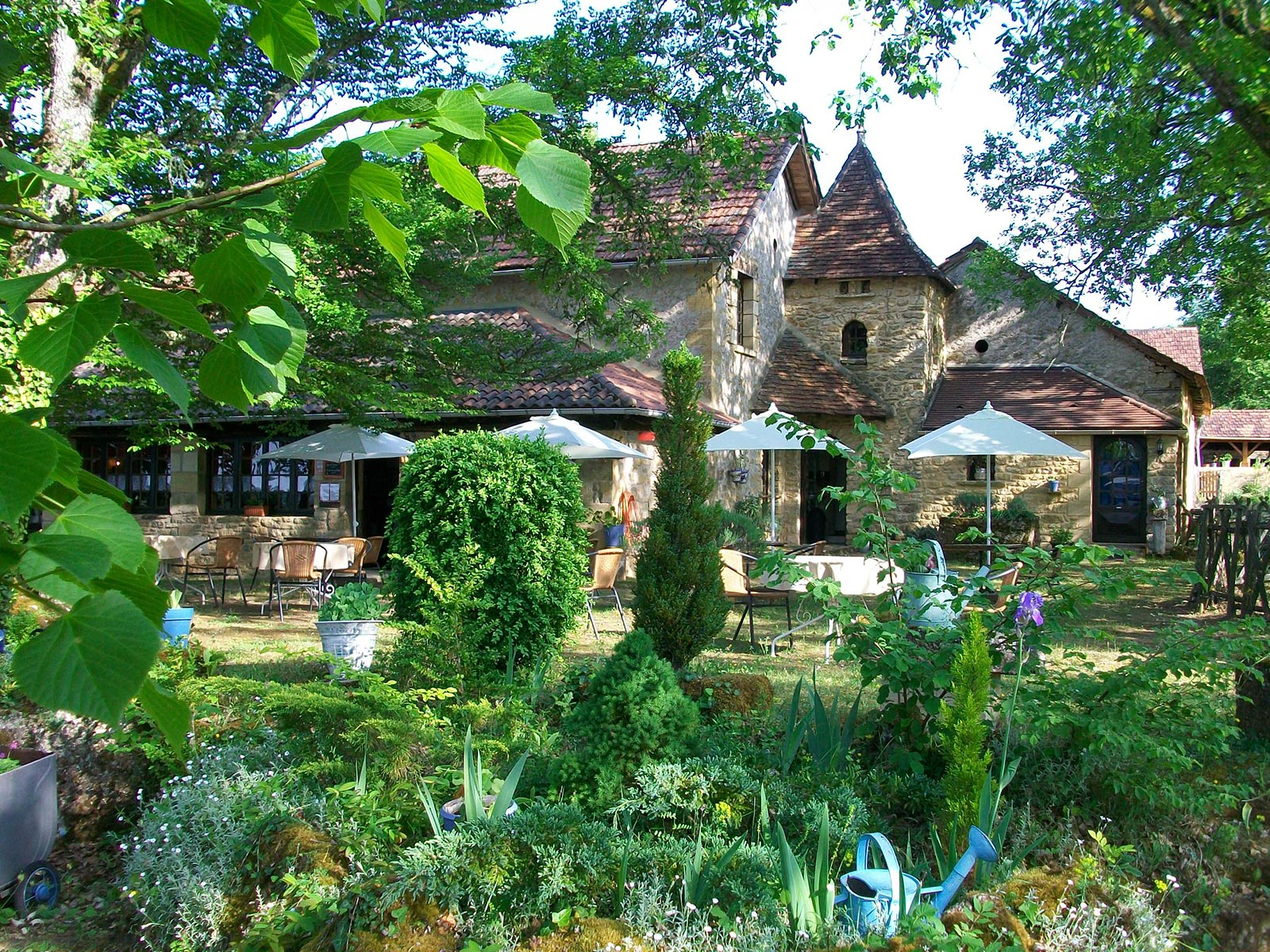 Une auberge-hôtel au cœur de la nature