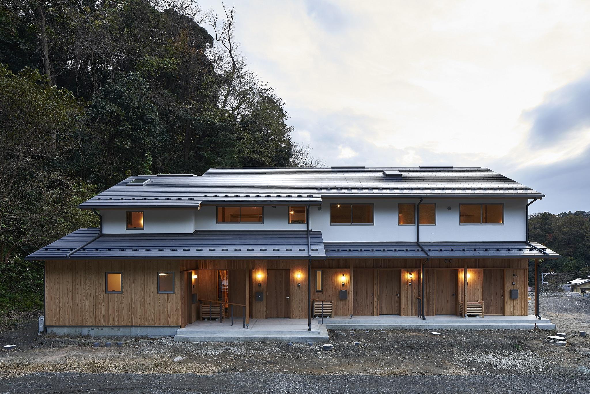 鎌倉の長屋|kamakura_kanagawa|神奈川|©角悠一郎
