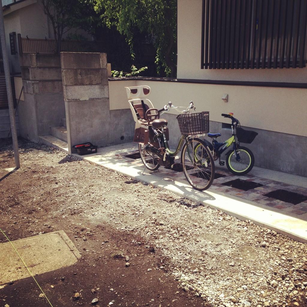 駐車場新設工事(完成)