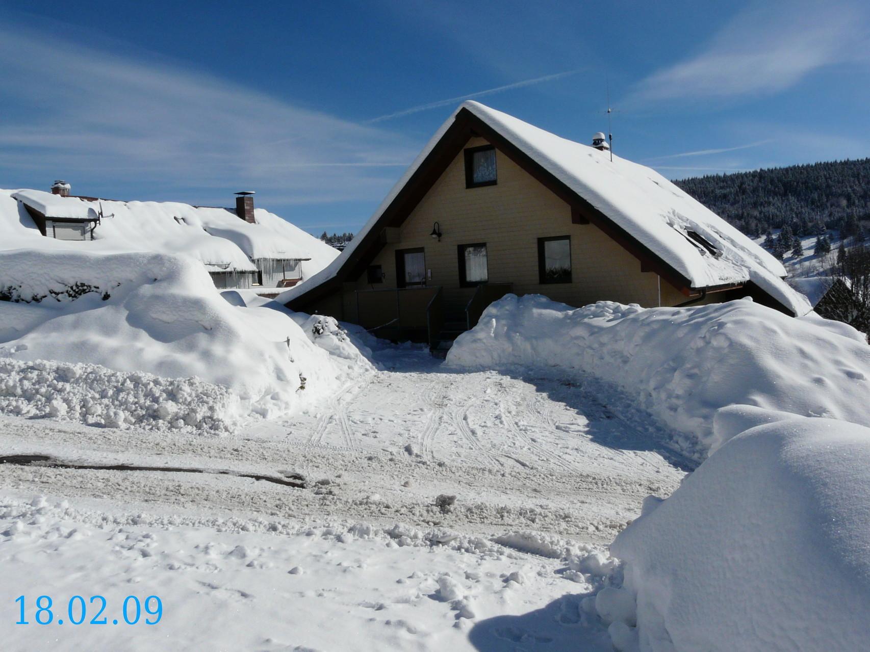 reichlich Schnee