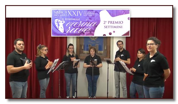 2° premio Ocarine Gaggle per l'Italia categoria Settimini