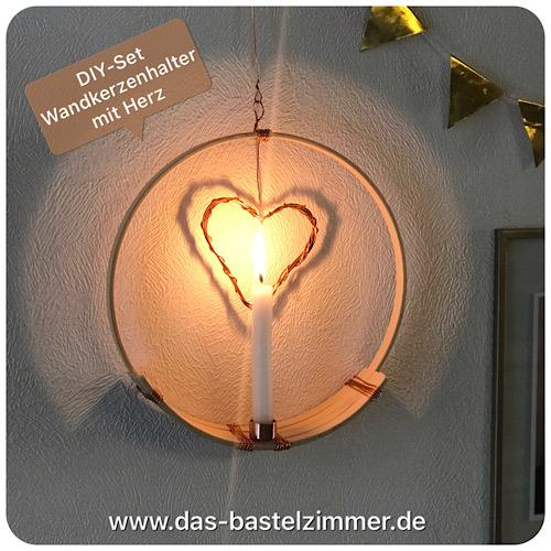 DIY-Set Wandkerzenhalter, Preis: 20,-