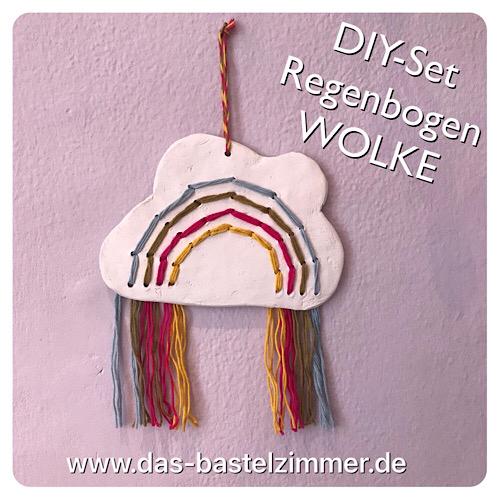 DIY-Set Regenbogen-Wolke Dieses Set eignet sich auch gut für Kinder. Preis: 18,-