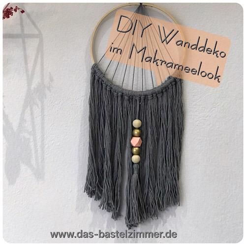 Wanddeko Makramee