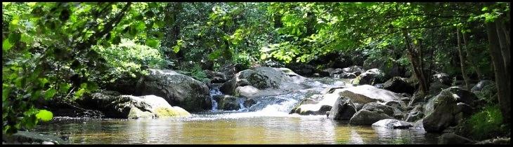 St félicien Domaine de pierrageais, camping, riviere la Daronne