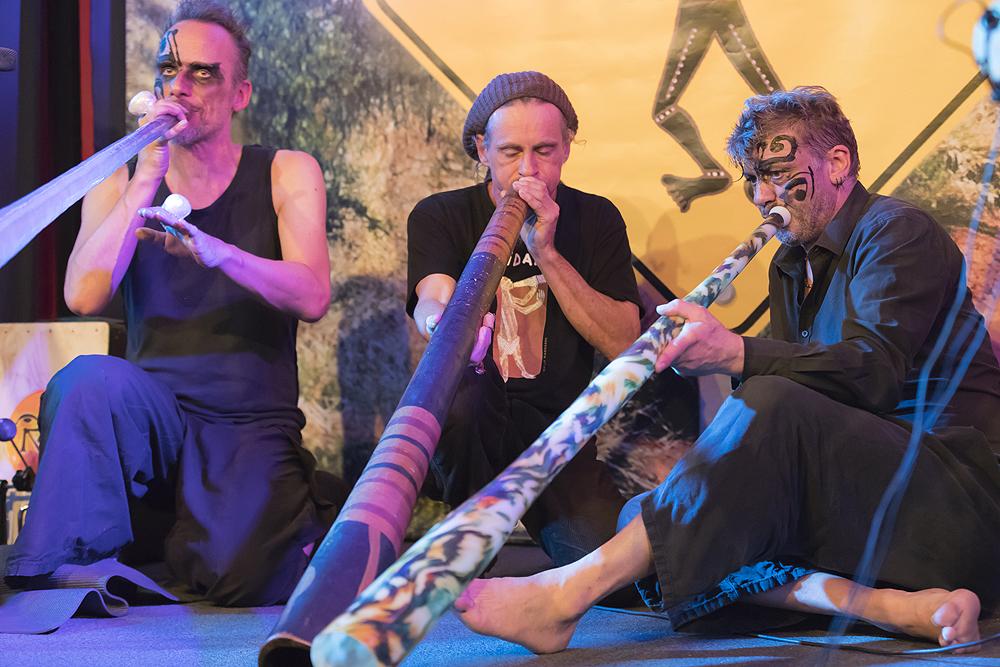 Swiss Didgeridoo Festival - Wörkshophus Bern